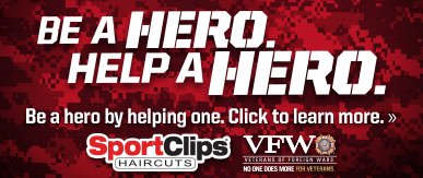 Sport Clips Haircuts of Brazos Town Center- Rosenberg​ Help a Hero Campaign